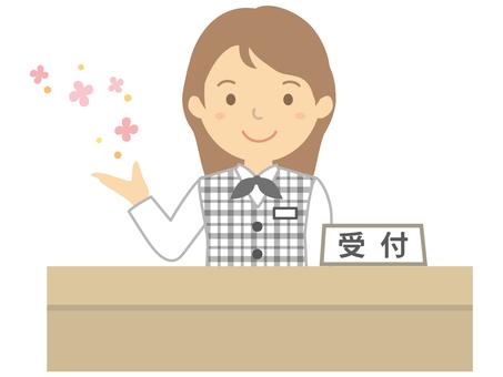 病院での外来受付業務  (徳島市)
