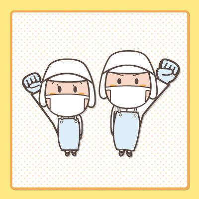 スーパーでの清掃業務  (徳島市)